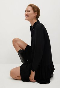 Mango - SOFIA - Shirt dress - noir - 4