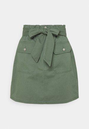 A-line skirt - desert olive
