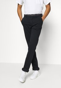 Mason's - TORINO WINTER - Chino kalhoty - navy - 4