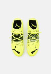 Puma - FUTURE Z 3.1 FG/AG - Moulded stud football boots - yellow alert/black/white - 3
