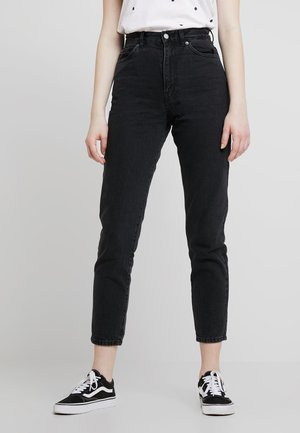NORA - Jeansy Relaxed Fit - retro black