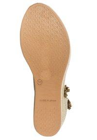 Priscila Welter - Sandalen met sleehak - beige - 4