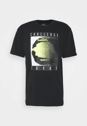 TEE REISSUE COURT LOGO - Print T-shirt - black