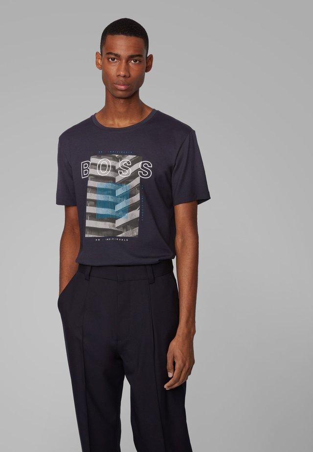 TIBURT 166 - T-shirt con stampa - dark blue