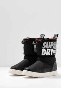 Superdry - JAPAN EDITION - Winter boots - black - 4