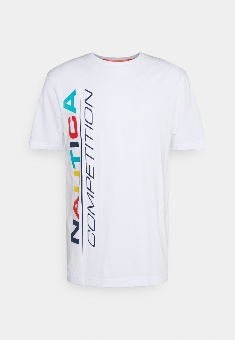 NAUTICA COMPETITION - PARLEY - Print T-shirt - white