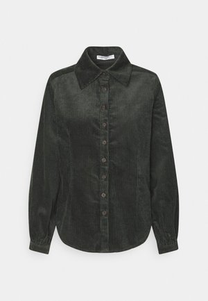 LADIES - Button-down blouse - dark green