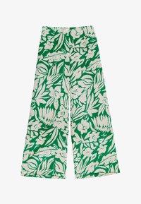OYSHO - TROPICAL - Trousers - green - 4