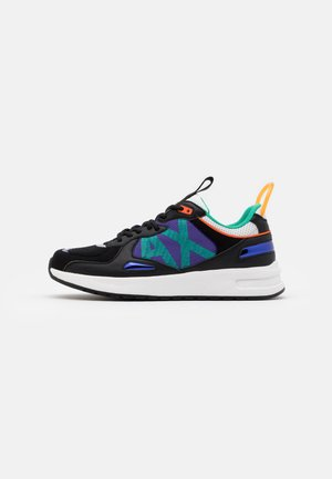 Sneakers - black/teal
