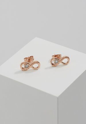 ENDLESS LOVE - Earrings - rosegold-coloured