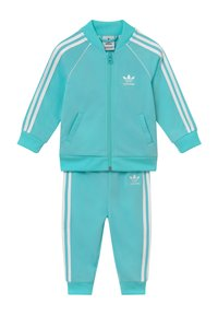 adidas Originals - SUPERSTAR SET - Zip-up hoodie - claqua/white - 0