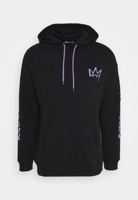 YOURTURN - RESPECT HOODIE - Bluza rozpinana - black - 0