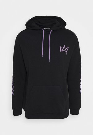 RESPECT HOODIE - Collegetakki - black