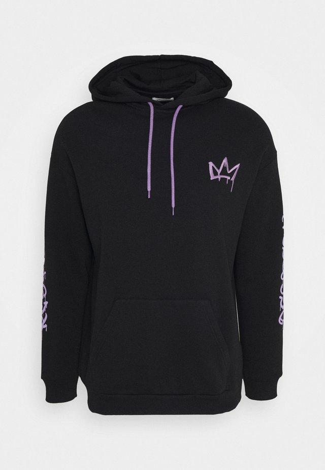RESPECT HOODIE - Zip-up hoodie - black