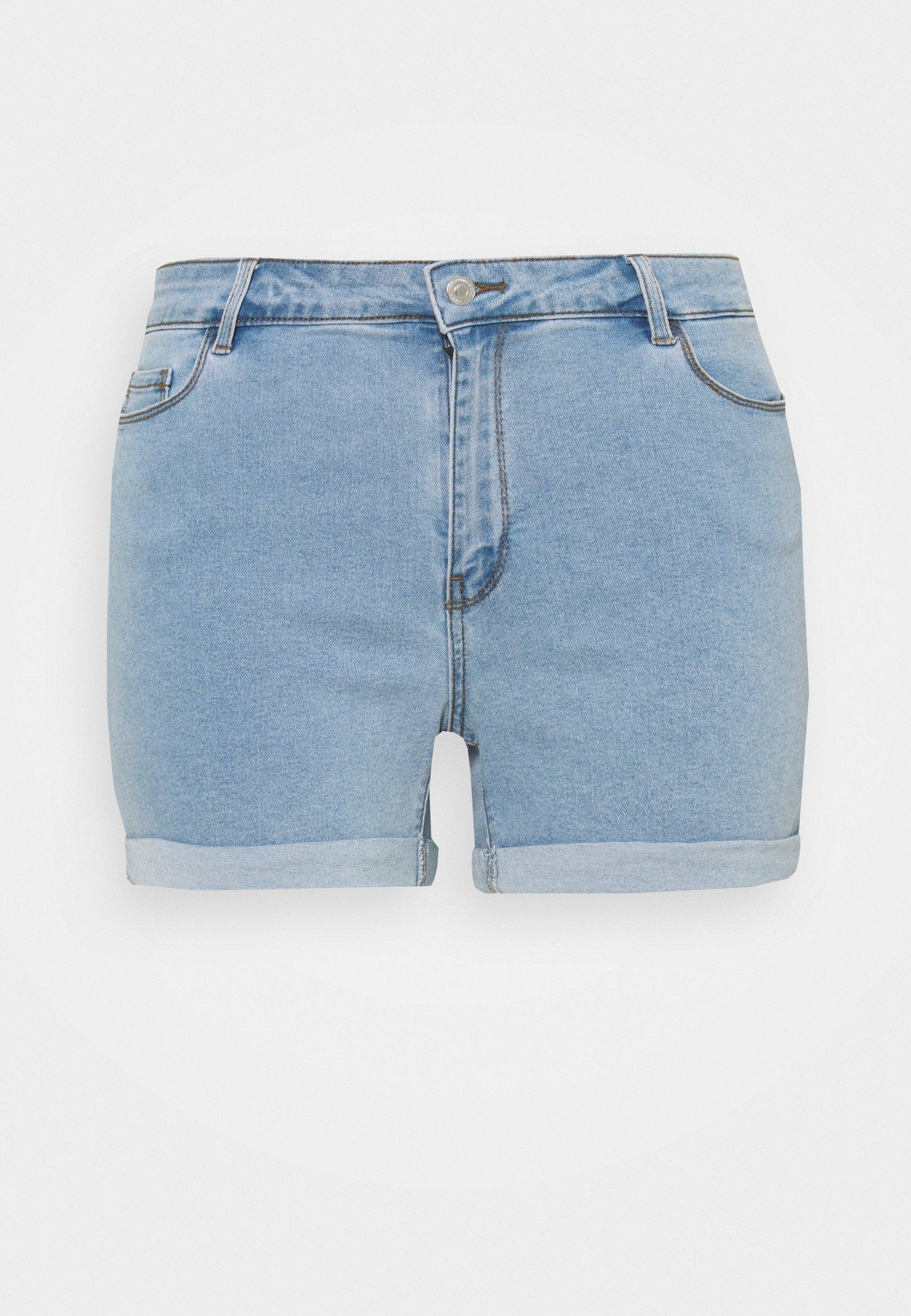 Women VMHOT SEVEN FOLD MIX  - Denim shorts