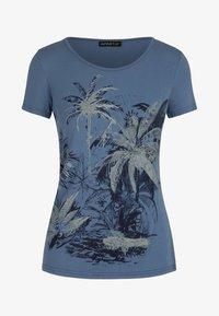 Apart - T-shirt imprimé - blau - 4