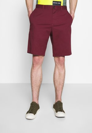 WASHED - Shorts - cassis
