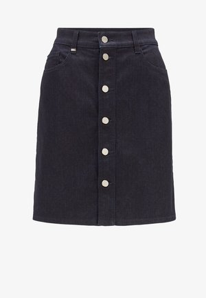 DENIM SKIRT 2.0 - Jupe trapèze - dark blue