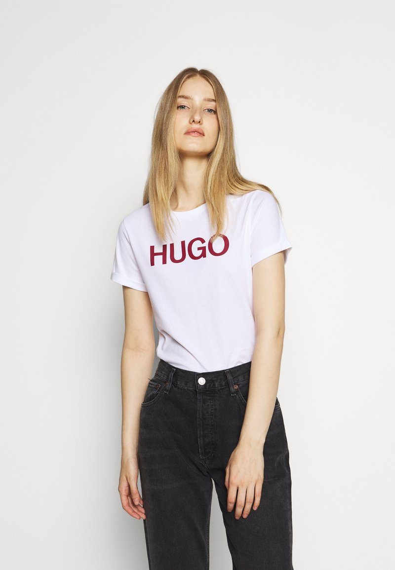 HUGO - THE SLIM TEE - T-Shirt print - multi coloured