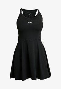 Nike Performance - DRY DRESS - Sports dress - black/white - 4