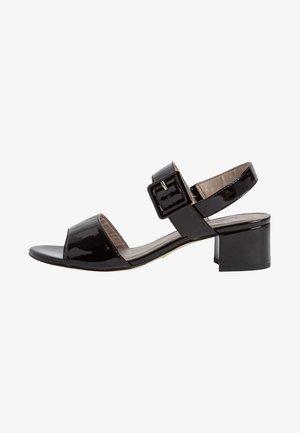 TAMARIS SANDALETTE - Sandals - black