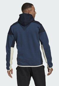 adidas Performance - Z.N.E HOODIE PRIMEGREEN HOODED TRACK TOP - Zip-up hoodie - blue - 1