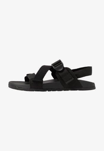 LOWDOWN  - Walking sandals - black