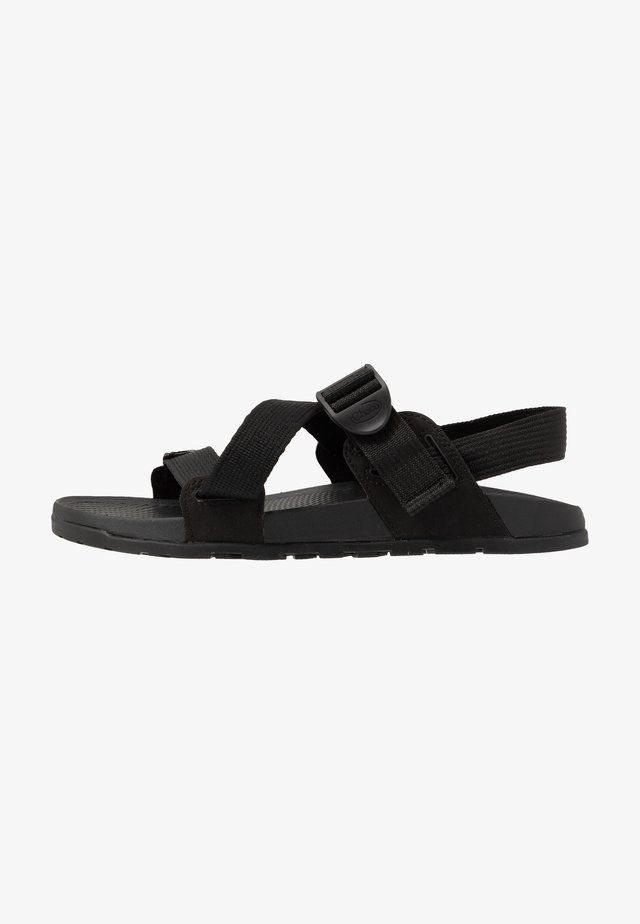 LOWDOWN  - Sandalias de senderismo - black