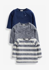 Next - 3 pack - T-shirt print - blue - 0
