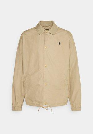 POPLIN COACH JACKET - Summer jacket - luxury tan