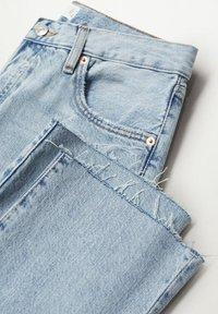 Mango - Straight leg jeans - light blue - 7