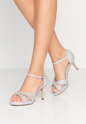 HAVEN WIDE FIT - High heeled sandals - silver