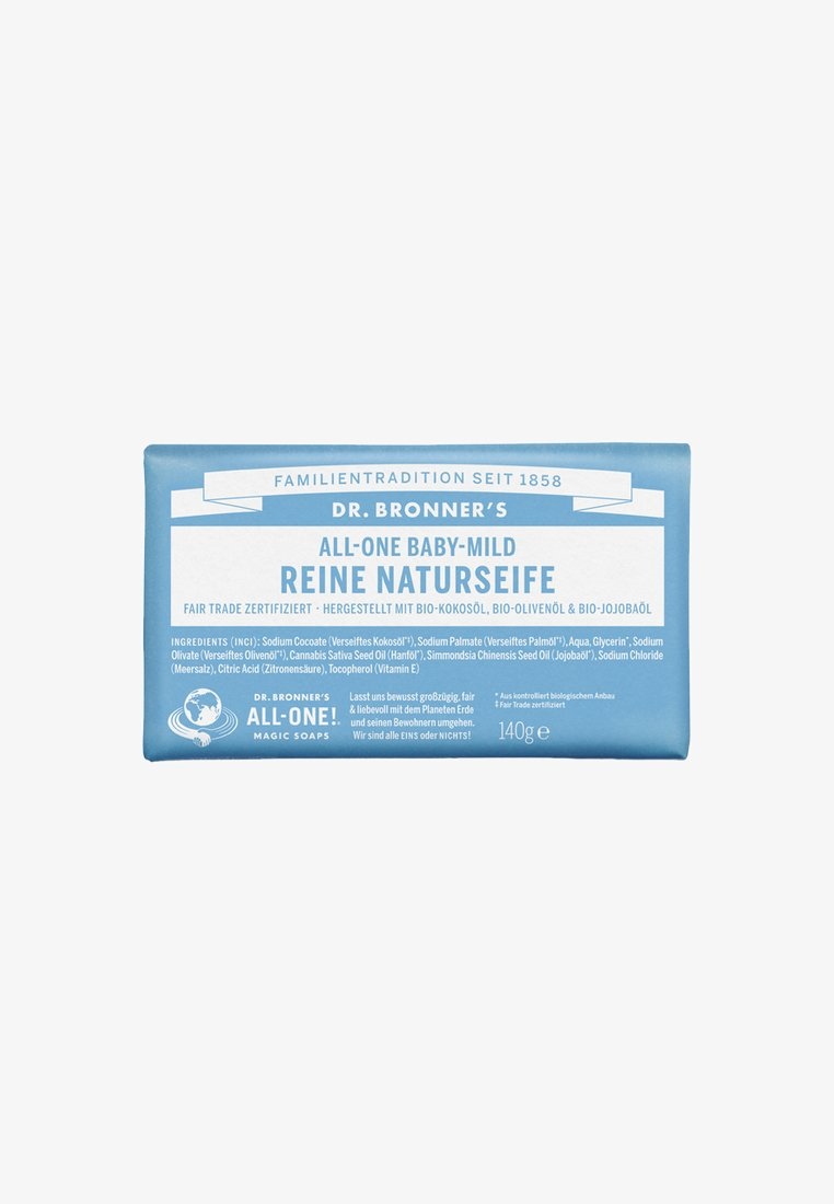 Dr. Bronner´s - PURE NATURAL SOAP 140G - Soap bar - baby mild