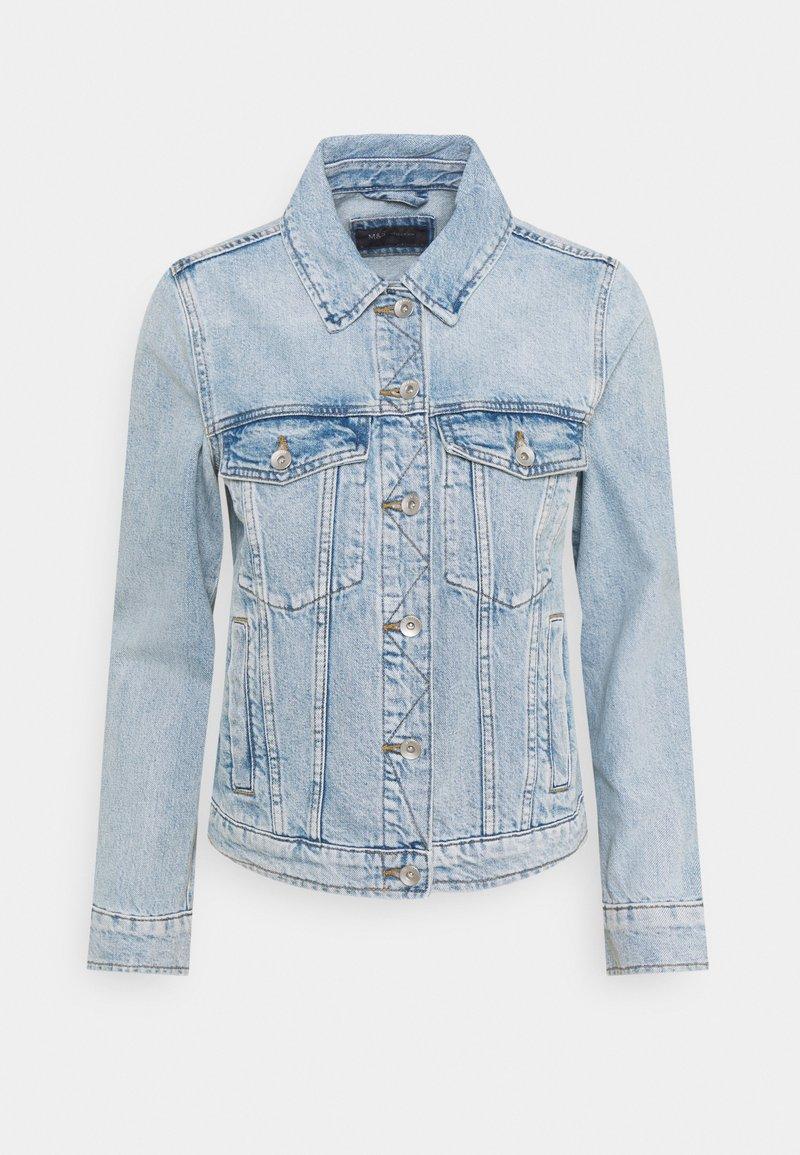 Marks & Spencer London - Džínová bunda - light blue