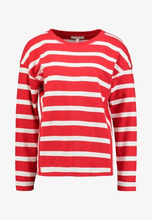 STRIPE - Jersey de punto - dark red