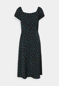 Even&Odd - Day dress - black/green - 6