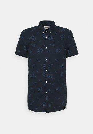 PRINTED  BUTTON DOWN SHIRT - Shirt - navy tonal shred