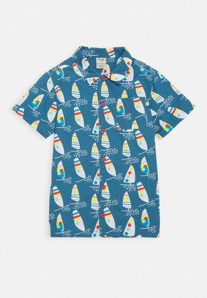 HARVEY HAWAIIAN - Košile - steely blue