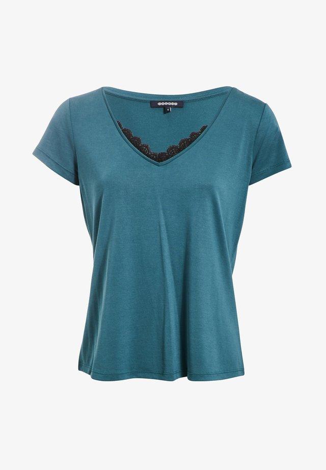 T-shirt con stampa - vert canard