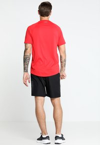 Under Armour - HEATGEAR TECH  - T-shirts print - red/graphite - 2