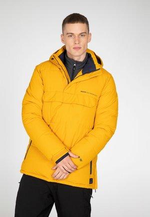 ANORAK - Winter jacket - dark yellow