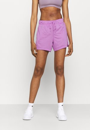 SHORT PLUS - kurze Sporthose - violet shock/white