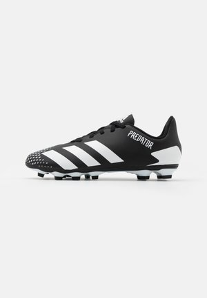 PREDATOR 20.4 FXG UNISEX - Moulded stud football boots - core black/footwear white