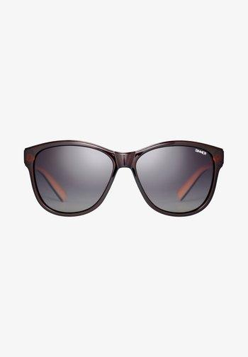 Sunglasses - brown/peach