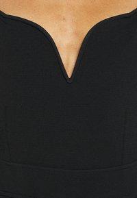 Hervé Léger - JULIA RESTOIN ROITFELD SWEETHEART LONG SLEEVE - Jumpsuit - black - 7