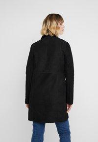 VSP - CLASSIC ZIPPER - Classic coat - merino black - 2