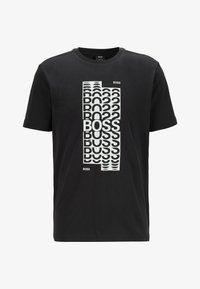 BOSS - Print T-shirt - black - 4