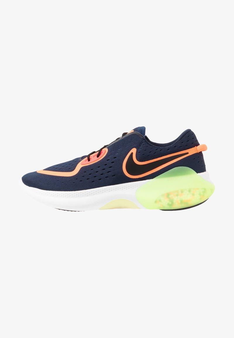 Nike Performance - JOYRIDE  - Juoksukenkä/neutraalit - midnight navy/black/hyper crimson/laser crimson-barely volt-diffused blue