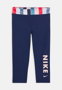 Nike Performance - Legging - blue void/track red/washed coral - 0