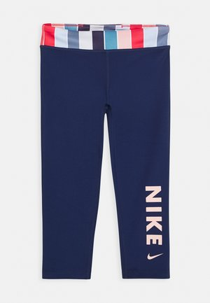 Leggings - blue void/track red/washed coral